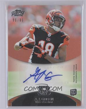 2011 Topps Prime Rookie Autographs #31 - A.J. Green /99 [Mint]