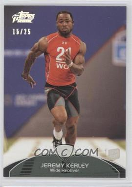 2011 Topps Prime Silver Rainbow #127 - Jeremy Kerley /25