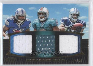 2011 Topps Prime Triple Combo Relics Gold #TCR-LTM - DeMarco Murray, Mikel Leshoure, Daniel Thomas /50