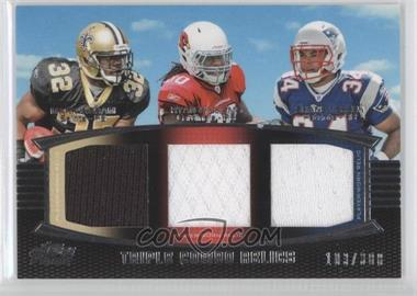 2011 Topps Prime Triple Combo Relics #TCR-IWV - Mark Ingram, Ryan Williams, Shane Vereen /388