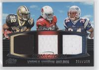 Mark Ingram, Ryan Williams, Shane Vereen /388