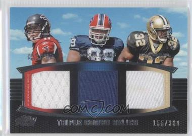 2011 Topps Prime Triple Combo Relics #TCR-JDI - Julio Jones, Marcell Dareus, Mark Ingram /388