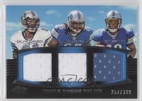 Calvin Johnson, Mikel Leshoure, Titus Young /388