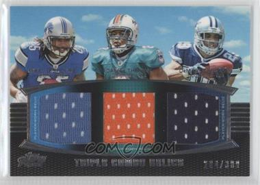 2011 Topps Prime Triple Combo Relics #TCR-LTM - DeMarco Murray /388