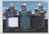 Mikel Leshoure, Daniel Thomas, DeMarco Murray /388