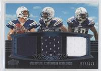 Philip Rivers, Vincent Brown, Jordan Todman /388