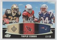 Mark Ingram, Ryan Williams, Shane Vereen /25