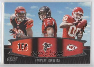2011 Topps Prime Triple Combo #TC-GJB - A.J. Green, Julio Jones