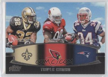 2011 Topps Prime Triple Combo #TC-IWV - Mark Ingram, Ryan Williams, Shane Vereen