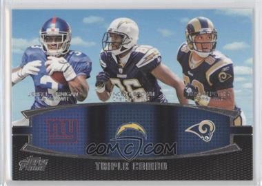 2011 Topps Prime Triple Combo #TC-JBP - Jerrel Jernigan, Vincent Brown, Austin Pettis
