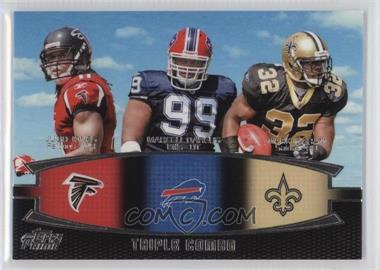2011 Topps Prime Triple Combo #TC-JDI - Julio Jones, Marcell Dareus, Mark Ingram