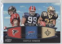 Julio Jones, Marcell Dareus, Mark Ingram