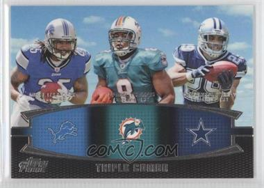 2011 Topps Prime Triple Combo #TC-LTM - Mike Leach, DeMarco Murray