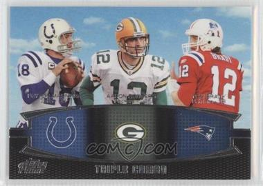 2011 Topps Prime Triple Combo #TC-MRB - Peyton Manning