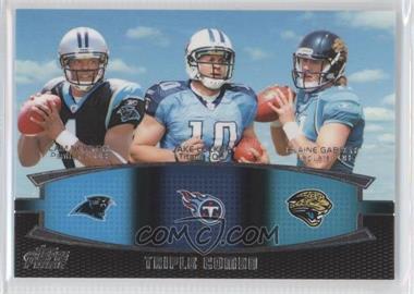 2011 Topps Prime Triple Combo #TC-NLG - Cam Newton, Blaine Gabbert