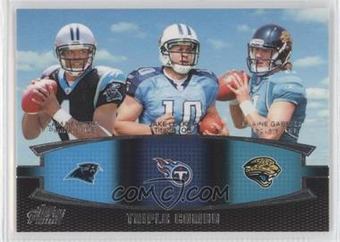 2011 Topps Prime Triple Combo #TC-NLG - Cam Newton, Jake Locker, Blaine Gabbert