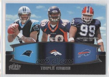 2011 Topps Prime Triple Combo #TC-NMD - Cam Newton, Von Miller, Marcell Dareus