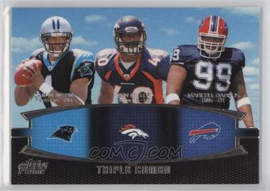 2011 Topps Prime Triple Combo #TC-NMD - Cam Newton, Von Miller, Marcell Dareus