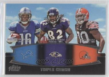 2011 Topps Prime Triple Combo #TC-YSL - Titus Young, Torrey Smith, Greg Little
