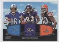 Titus Young, Torrey Smith, Greg Little