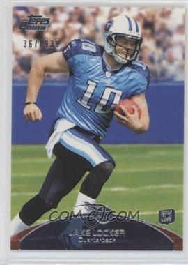 2011 Topps Prime #82 - Jake Locker /930