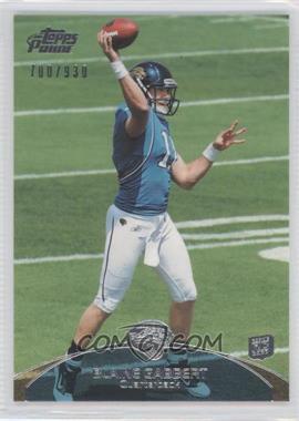 2011 Topps Prime #83 - Blaine Gabbert /930