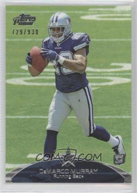 2011 Topps Prime #9 - DeMarco Murray /930