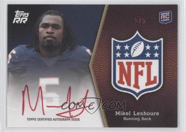 2011 Topps Rising Rookies - NFL Shield Rookie Autographs - Red Ink #SRA-ML - Mikel Leshoure /5