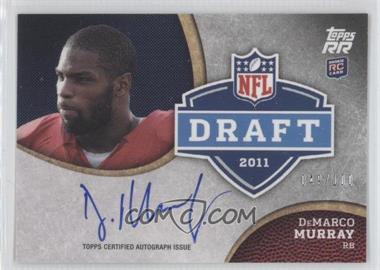 2011 Topps Rising Rookies Draft Rookies Autographs #DRA-DM - DeMarco Murray /100