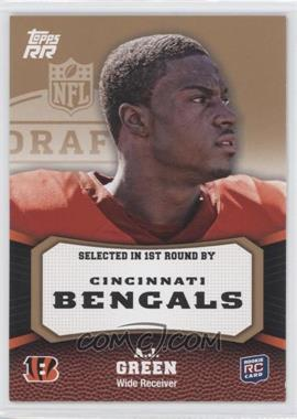 2011 Topps Rising Rookies Gold #150 - A.J. Green
