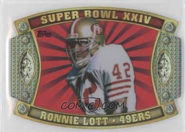2011 Topps Super Bowl #SB-59 - Ronnie Lott