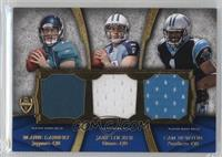 Blaine Gabbert, Jake Locker, Cam Newton, Ryan Mallett, Andy Dalton, Christian P…