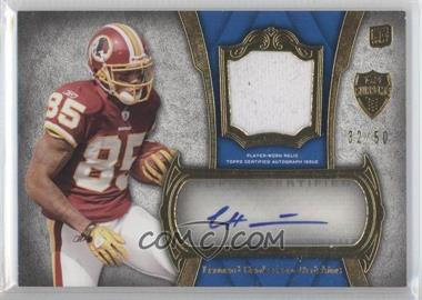 2011 Topps Supreme Autographed Relics #SAR-LH - Leonard Hankerson /50