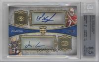Colin Kaepernick, Alex Green /25 [BGS 8.5]