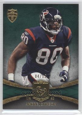 2011 Topps Supreme Green #37 - Andre Johnson /15