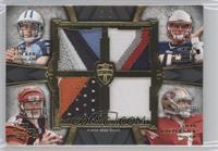 Jake Locker, Ryan Mallett, Andy Dalton, Colin Kaepernick /5