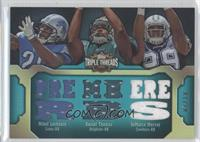 Mikel Leshoure, Daniel Thomas, DeMarco Murray /18