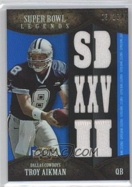 2011 Topps Triple Threads Super Bowl Legends Relics #TTSBL-12 - Troy Aikman /18