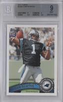 Cam Newton (Making 4 w/ L. Hand) [BGS 9]
