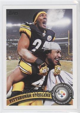 2011 Topps #216 - Pittsburgh Steelers Team
