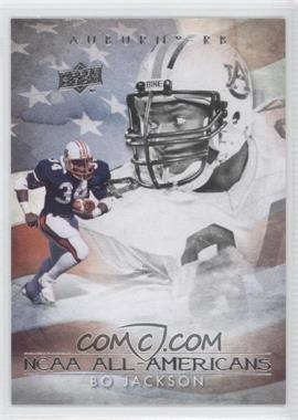 2011 UD College Football Legends All-Americans #AA-BJ - Bo Jackson