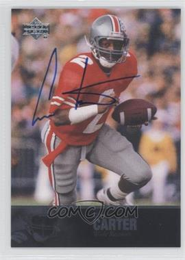 2011 UD College Football Legends Autographs [Autographed] #53 - Cris Carter