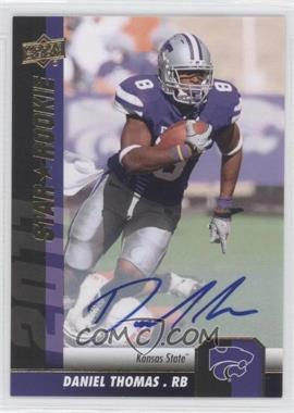 2011 Upper Deck - [Base] - Gold Autographs [Autographed] #74 - Daniel Thomas