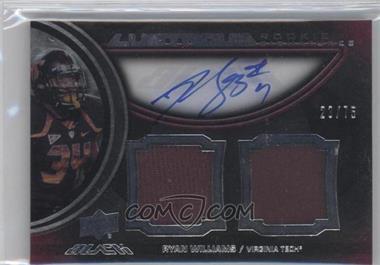 2011 Upper Deck Black - Lustrous Rookie Signatures Memorabilia - [Autographed] #8 - Ryan Williams /75