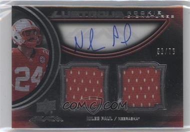2011 Upper Deck Black Lustrous Rookie Signatures Memorabilia [Autographed] #14 - [Missing] /75