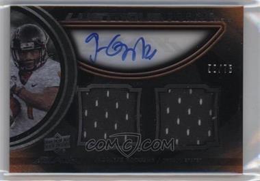 2011 Upper Deck Black Lustrous Rookie Signatures Memorabilia [Autographed] #23 - Jacquizz Rodgers /75