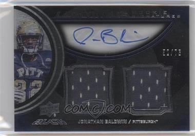 2011 Upper Deck Black Lustrous Rookie Signatures Memorabilia [Autographed] #24 - Jonathan Baldwin /75