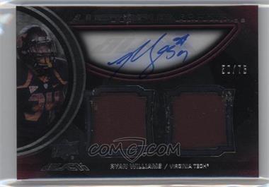 2011 Upper Deck Black Lustrous Rookie Signatures Memorabilia [Autographed] #8 - Ryan Williams /75