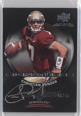 2011 Upper Deck Black Signatures #B-CP - Christian Ponder /45