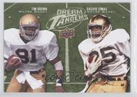Tim Brown, Raghib Ismail